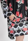 Detailansicht von Ana Alcazar Blusenkleid Sefris Schwarz