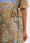 Details of Ana Alcazar Wrap Dress Silkona