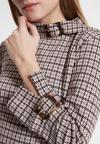 Detailansicht von Ana Alcazar A-Linien Kleid Wabury