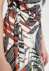 Details of Ana Alcazar Belt Dress Zadin