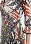 Details of Ana Alcazar Wrap Dress Zadio