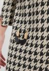 Details of Houndstooth Dress Beipo