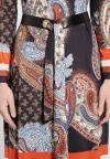 Details of Dress With Belt Besme
