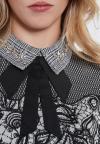 Details of Ana Alcazar Collar Top Vegune