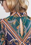 Details of Ana Alcazar Shirt Volkomy