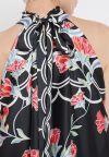 Details of Ana Alcazar Maxi Dress Sefada Black