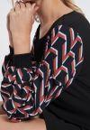 Details of Ana Alcazar Pullover Dress Vabustis Brown