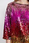 Detailansicht von Ana Alcazar Pailletten Kleid Wanuka