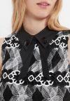 Details of Ana Alcazar Collar Dress Zeby