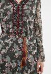 Detailansicht von Ana Alcazar Langarm Kleid Zigea