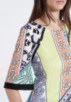 Detailansicht von Ana Alcazar Kurzarm Kleid Zinis