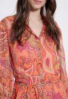 Details of Ana Alcazar Maxi Dress Asiba