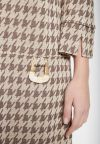 Details of Houndstooth Dress Beipy