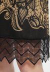 Detailansicht von A-Linien-Kleid Bensa