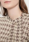 Details of Houndstooth Shirt Beiras