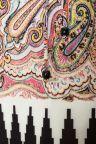 Detailansicht von Ana Alcazar Paisley Kleid Medissa