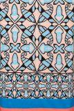 Detailansicht 2 von Buntes Kurzarmkleid Farowis Grafik-Print