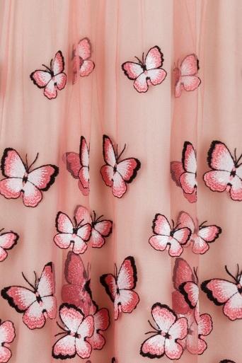 Ana Alcazar Black Label Cocktail Dress Butterfly