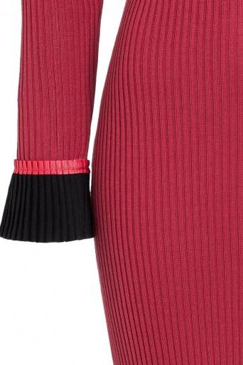 Ana Alcazar Midi Dress Ponera Red