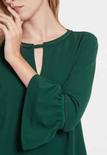 Ana Alcazar A-Linienkleid Vafemi Grün
