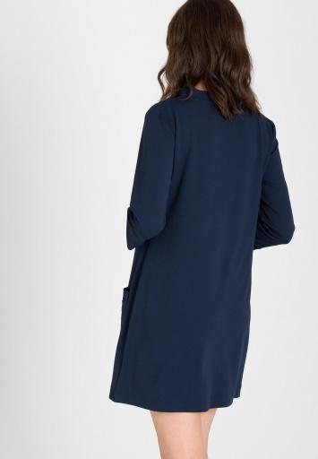 Ana Alcazar Taschen Kleid Wagosy Blau