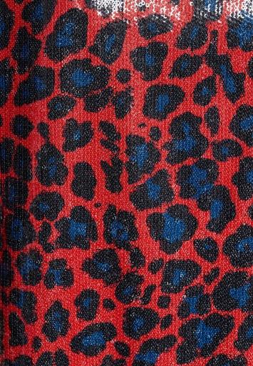 Ana Alcazar Leoparden Kleid Waofa