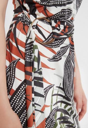 Ana Alcazar Belt Dress Zadin