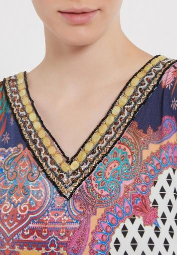 Ana Alcazar Short Sleeve Dress Zioly