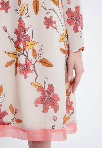 Ana Alcazar Silk Dress Alene