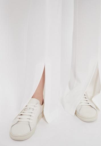 Ana Alcazar Lange Hose Zubla Weiß