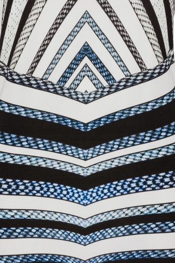 Ana Alcazar Grafisches Kleid Gluestis