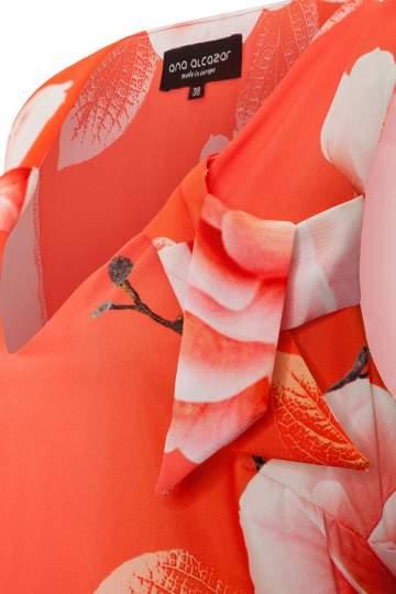 Detailansicht von Ana Alcazar Limited Edition Volantkleid Malia