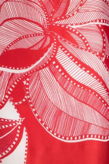 Detailansicht von Ana Alcazar Seiden Tunikakleid Nairy