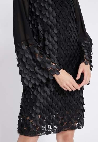Detailed view of Ana Alcazar Longsleeve Dress Rikyas