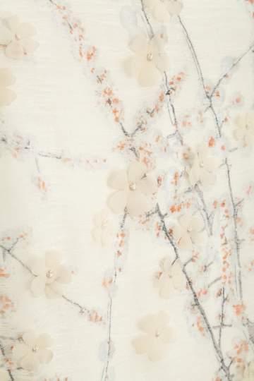 Detailansicht von Ana Alcazar Tunikakleid Federn Maaiky