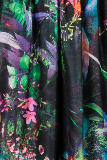 Detailansicht von Ana Alcazar Festliches Seidenkleid Ginna
