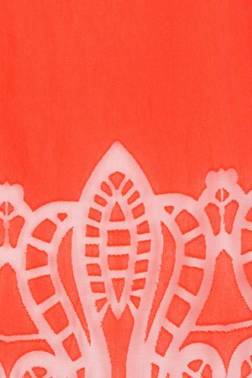 Detailansicht von Ana Alcazar Tunika Kleid Red-White Feya