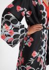 Tonen Details 2 van Ana Alcazar Kimono Sefoma Zwart