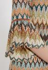 Details 2 of Ana Alcazar Volant Sleeve Dress Zagy