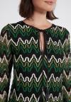 Details 2 of Ana Alcazar Tunic Dress Photany Green