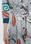 Details 2 of Ana Alcazar Midi Dress Zeska
