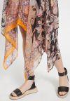 Details 2 of Ana Alcazar Silk Dress Zeza Dark