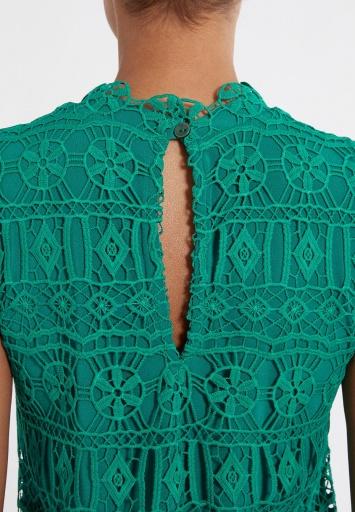 Ana Alcazar Lace Dress Saimea Green