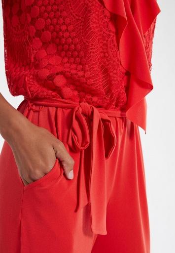 Ana Alcazar Jumpsuit Saoty Red