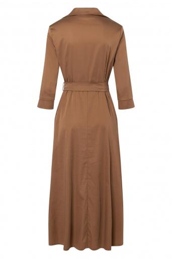 Ana Alcazar Wrap Dress Zepyo Brown