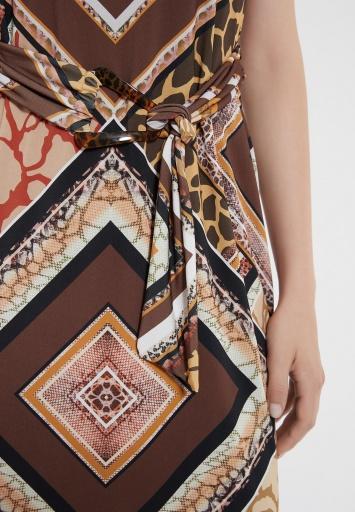 Ana Alcazar Belt Dress Zinos