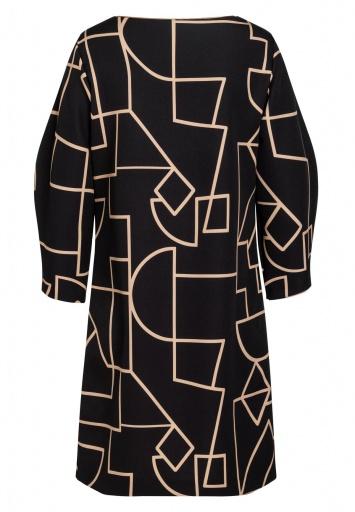 Grafik-Kleid Bagy