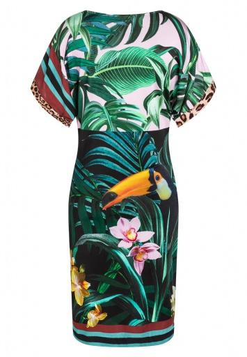 Print Dress Ceila