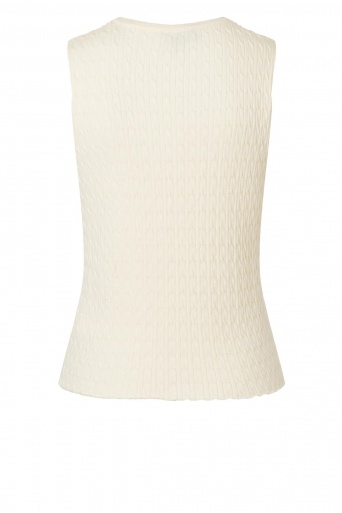 Ana Alcazar Knit Top Zyllo White