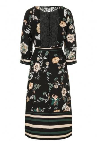 Ana Alcazar Midi Dress Ozalwa